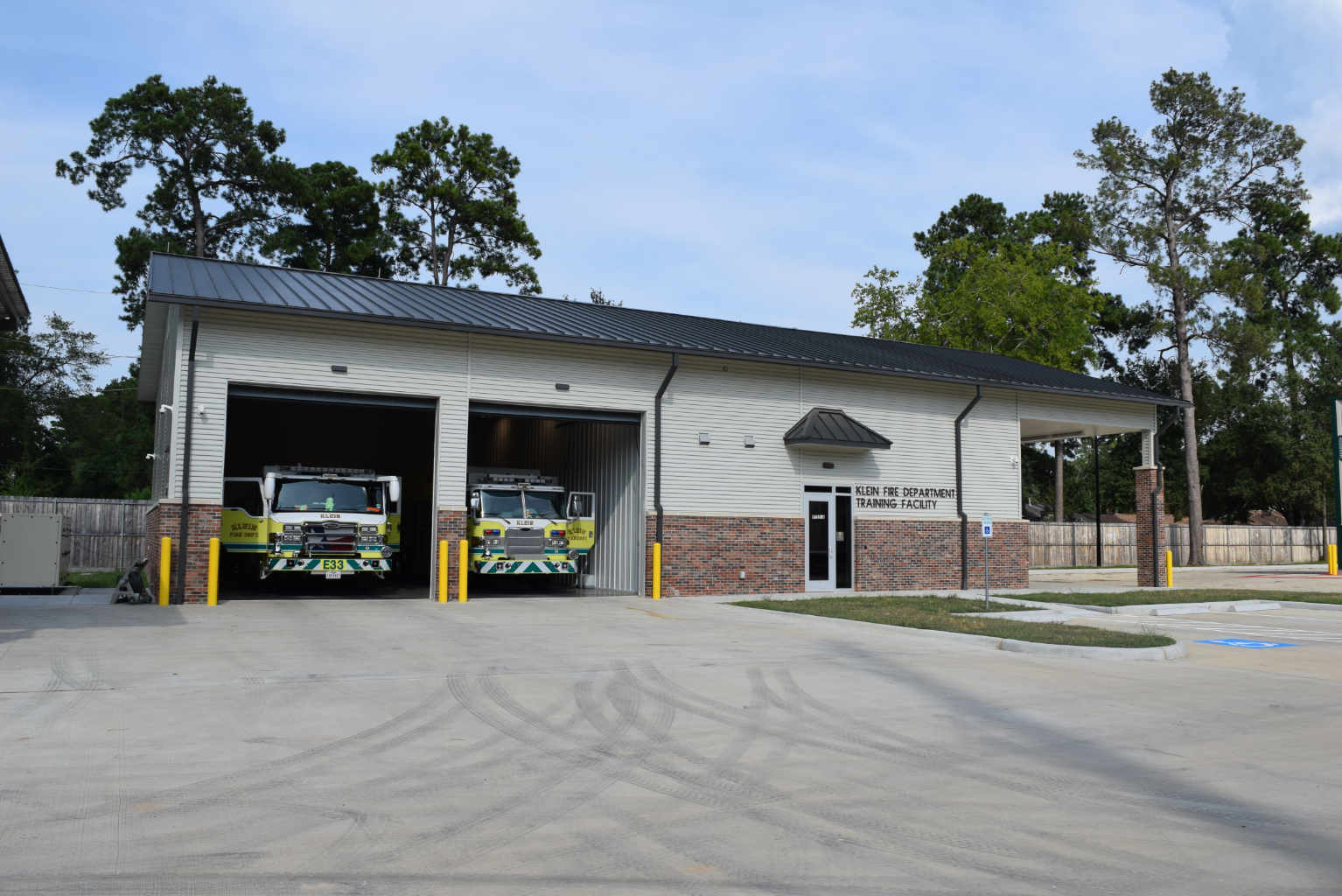 Klein VFD and HCESD 16 building new Fire Station 3